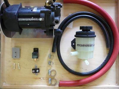 Electric Pump: Power Steering Electric Pump Conversion